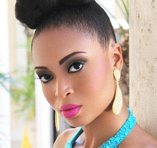 Snwazna Adams - Miss TCI 2013